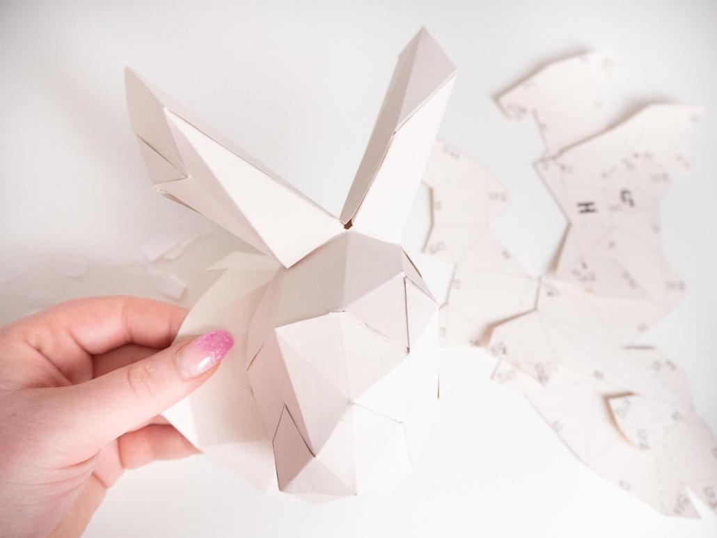 Papershape 3d Origami Tierkopfe
