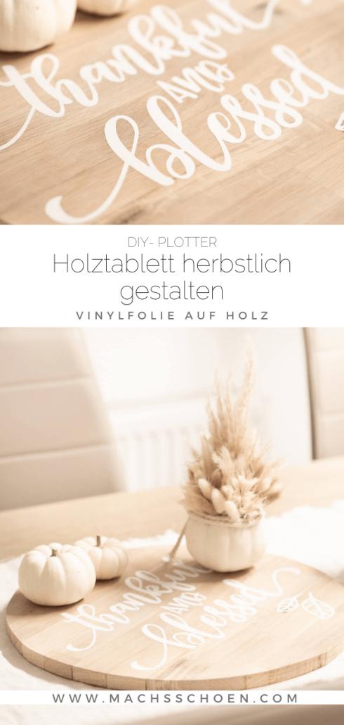 Vinyl-folie-auf-holz-tischdeko-herbst