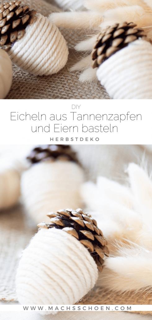 Herbstdeko-eicheln-tannenzapfen-basteln