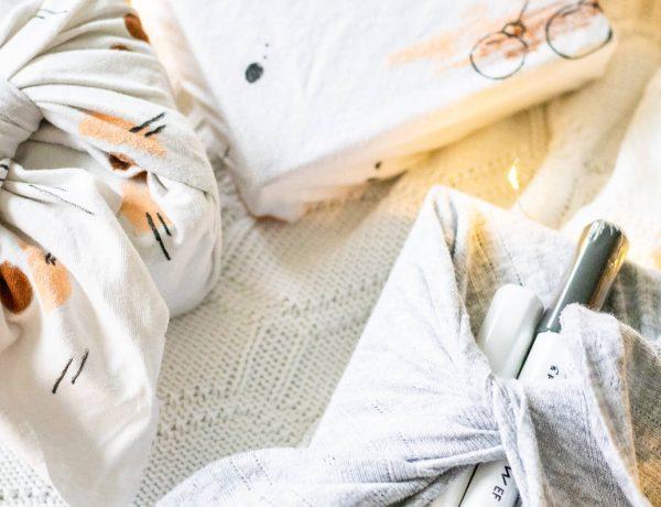 Gestalte nachhaltige Geschenkverpackungen mit PILOT. Ganz einfach selbst zu machen! DIY Trend