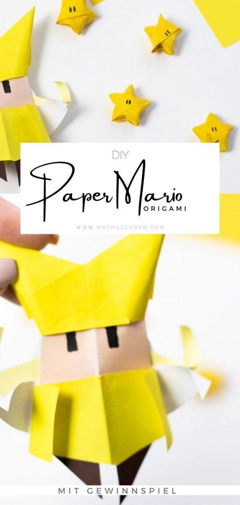 Paper Mario- Origami Anleitung für Mario Figuren