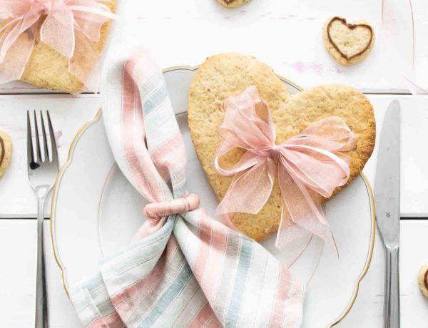 Leckeres Keksrezept und Anleitung zum nähen von Stoffservietten