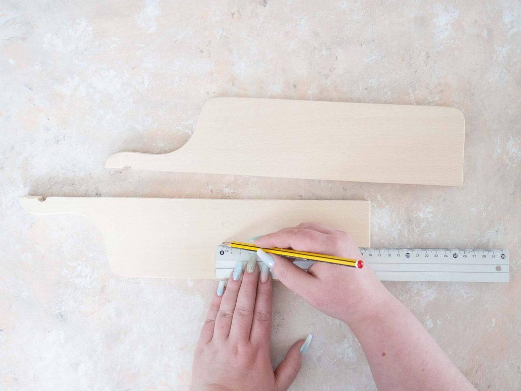 Einfache Anleitung: Gewürzregal selber bauen.