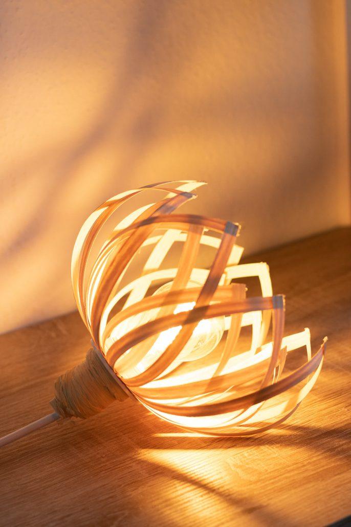 Design-Lampe Anleitung