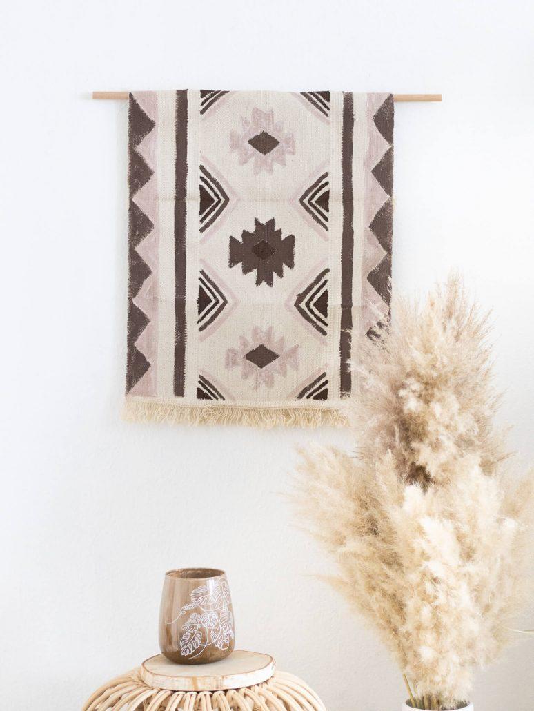 DIY: Boho Wandteppich gestalten
